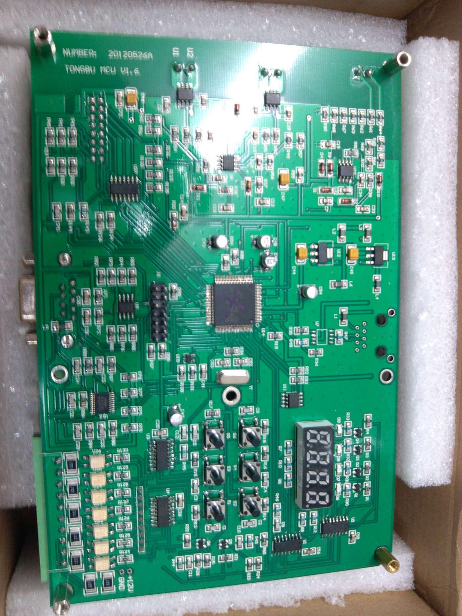 此电路板为伺服电机控制系统